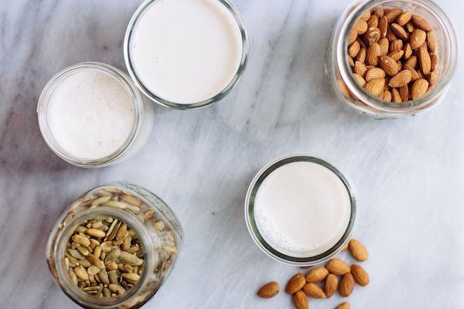 منتجات الحليب النباتية: 4 طرق لعمل حليب الجوز