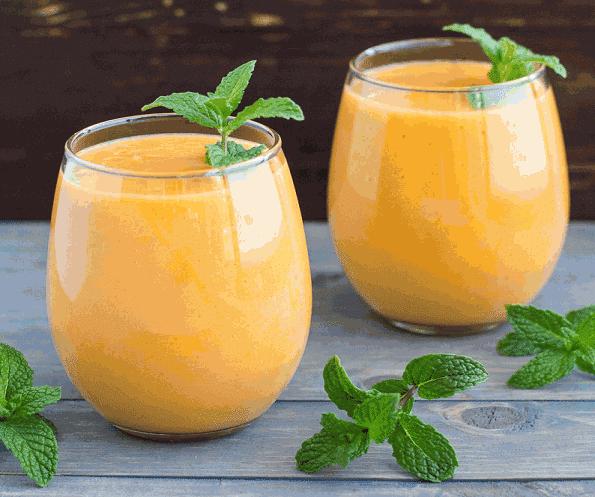 طريقة عمل عصير البرتقال بالنعناع لذيذ