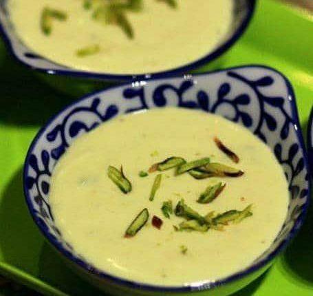 طريقة عمل مهلبية الزعفران التركية لذيذة