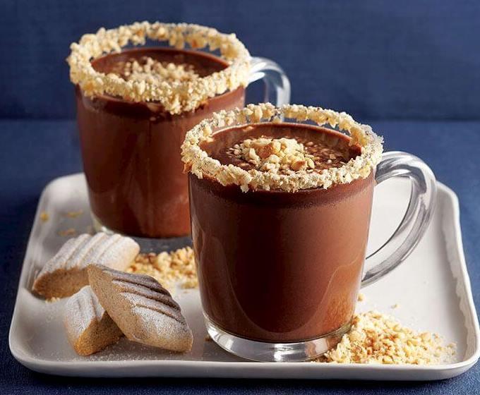 مشروب الشوكولاته بالفستق