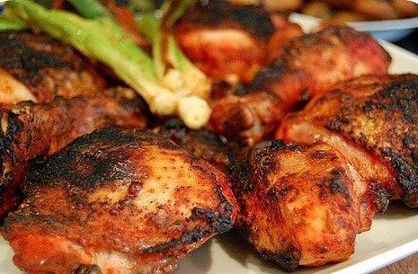 دجاج بصوص التندوري في الفرن