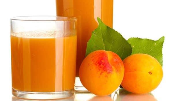 عصير قمر الدين من المشمش الطازج