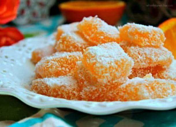 طريقة عمل لقمة البرتقال التركية رائعة