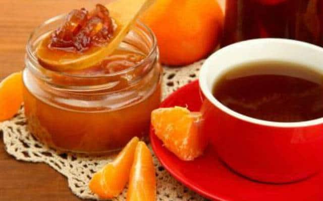 طريقه عمل شاي الفواكه الدافئ