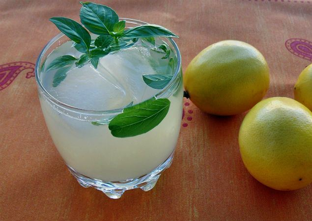 شربات الكنتالوب بالليمون والنعناع