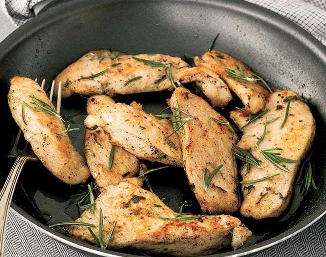 فليتو الدجاج بالزعفران