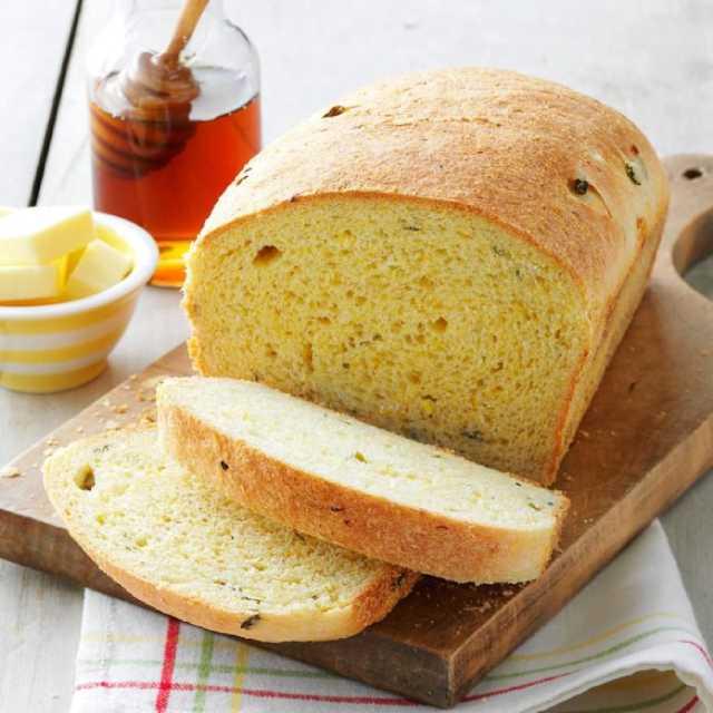 طريقة عمل خبز الذرة - وصفة خبز بدقيق الذرة
