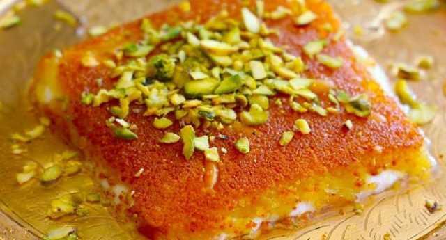 طريقة عمل الكنافة التركية بالجبنة العكاوي سهلة