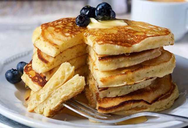 وصفة بان كيك بدون غلوتين - بان كيك بالعسل