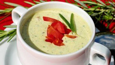 طريقة عمل شوربة الزبادي التركية - حساء الأم