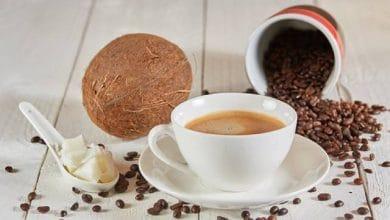 طريقة عمل قهوة الكيتو دايت بزيت جوز الهند سهلة