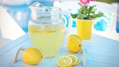 وصفة عصير الليمون خالية من السكر
