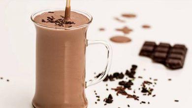 حليب الشوكولاتة البارد